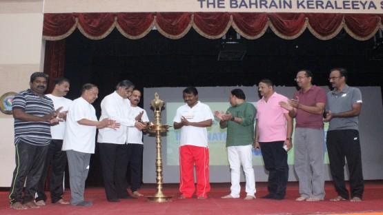 ബഹ്റൈന് കേരളീയ സമാജം അന്തര്ദേശീയ യോഗാദിനാചരണം ജൂണ് 18, ന് സമാജം ഡയമണ്ട് ജുബിലീ ഹാളില് നടന്നു