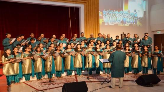 മാര്ത്തോമ്മാ പാരീഷില് സംഗീത സാക്ഷ്യ സന്ധ്യ അരങ്ങേറി