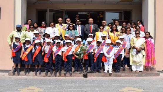 ഹരിതവൽക്കരണ ദൗത്യവുമായി ഇന്ത്യൻ സ്കൂൾ റിഫ ക്യാമ്പസ്