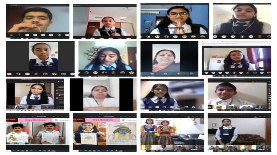 ഇന്ത്യൻ സ്കൂൾ സംസ്കൃത ദിനം ആഘോഷിച്ചു