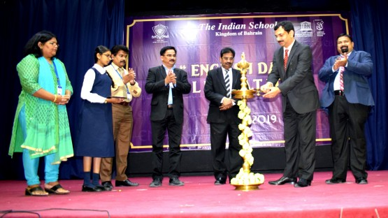 ഇന്ത്യൻ സ്കൂൾ ഇംഗ്ലീഷ് ദിനം ആഘോഷിച്ചു